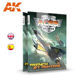AK INTERACTIVE AK2931 ACES HIGH MAGAZINE ISSUE 15 FRENCH JET FIGHTERS