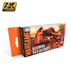 AK INTERACTIVE AK1124 GERMAN RED PRIMER SET (WARGAME SERIES)