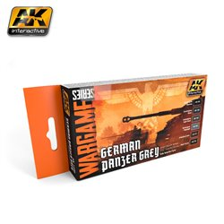 AK INTERACTIVE AK1160 GERMAN PANZER GREY SET (WARGAME SERIES)