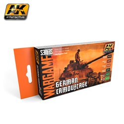 AK INTERACTIVE AK1167 GERMAN CAMOUFLAGE SET (WARGAME SERIES)