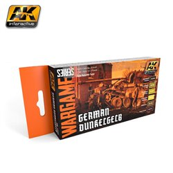 AK INTERACTIVE AK1552 GERMAN DUNKELGELB SET (WARGAME SERIES)