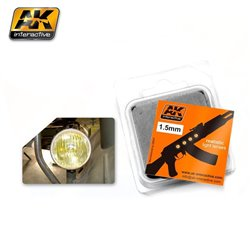 AK INTERACTIVE AK205 LENSES AMBER 1.5MM
