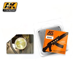 AK INTERACTIVE AK217 LENSES AMBER 4MM