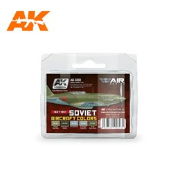 AK INTERACTIVE AK2250 1937-1941 SOVIET AIRCRAFT COLORS
