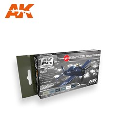 AK INTERACTIVE AK2230 WW2 US NAVY AND USMC AIRCRAFT COLORS