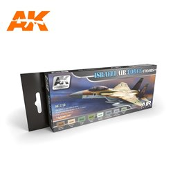 AK INTERACTIVE AK2150 ISRAELI AIR FORCE COLORS AIR SERIES SET
