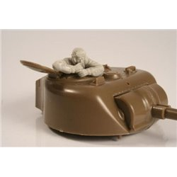 CMK F35259 1/35 US WW II Tank Commander in turret