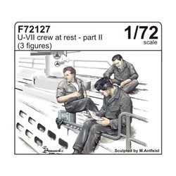 CMK F72127 1/72 U-VII crew at rest part II (3 fig.)
