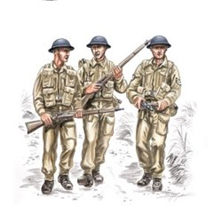 CMK F72145 1/72 British soldiers WW II (3 fig.)