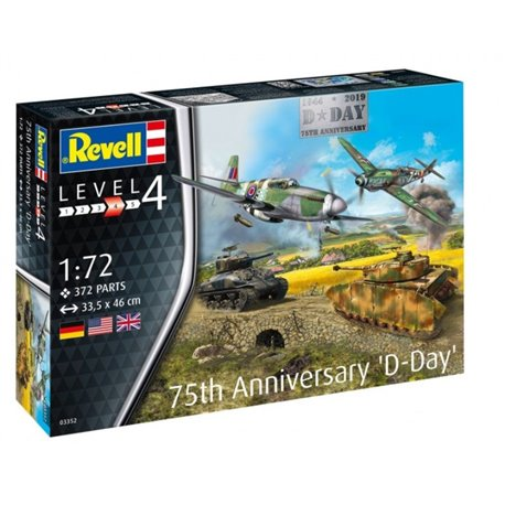 REVELL 03352 1/72 75th Anniversary D-Day