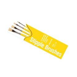 HUMBROL AG4306 Pinceaux - Stipple Brush Pack