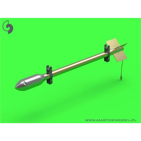 MASTER MODEL AM-24-012 1/24 British 3in Rocket RP-3 with 60LB SAP heads 8pcs