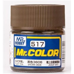 GUNZE SANGYO C-517 Mr Color Brown Flat 75% 10ml