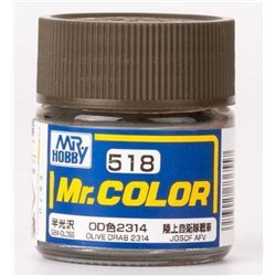 GUNZE SANGYO C-518 Mr Color Olive Drab 10ml