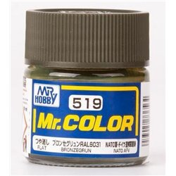 GUNZE SANGYO C-519 Mr Color Bronzegrun 10ml
