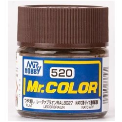 GUNZE SANGYO C-520 Mr Color Leder Braun 10ml
