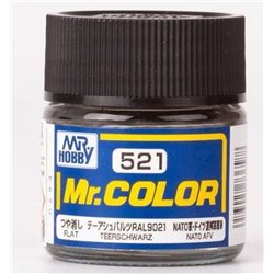GUNZE SANGYO C-521 Mr Color Teerschwarz 10ml