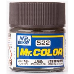 GUNZE SANGYO C-522 Mr Color Ground Color Flat 75% 10ml