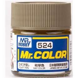 GUNZE SANGYO C-524 Mr Color Hay Color Flat 75% 10ml