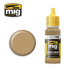 AMMO BY MIG A.MIG-0138 Acrylic Color Desert Yellow 17 ml