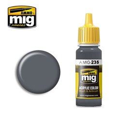 AMMO BY MIG A.MIG-0235 Acrylic Color FS 36152 Dark Grey AMT-12 17 ml