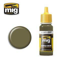 AMMO BY MIG A.MIG-0237 Acrylic Color FS 23070 Dark Olive Drab 17 ml