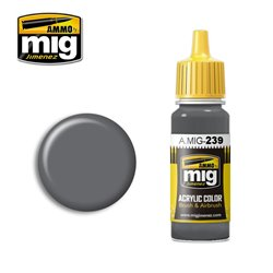 AMMO BY MIG A.MIG-0239 Acrylic Color FS 36122 Neutral Gray 17 ml