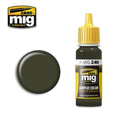AMMO BY MIG A.MIG-0240 Acrylic Color FS 34086 (ANA 613) 17 ml