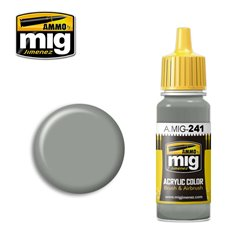 AMMO BY MIG A.MIG-0241 Acrylic Color FS 36440 Light Gull Gray 17 ml