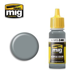 AMMO BY MIG A.MIG-0246 Acrylic Color Medium Sea Grey (BS 637) 17 ml