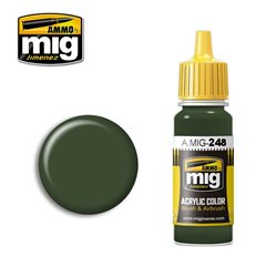 AMMO BY MIG A.MIG-0248 Peinture Acrylique RLM 80 Vert Olive 17 ml