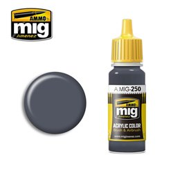 AMMO BY MIG A.MIG-0250 Acrylic Color Nicht Blue Grey 17 ml