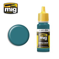 AMMO BY MIG A.MIG-0251 Acrylic Color Russian Blue AMT-7 17 ml