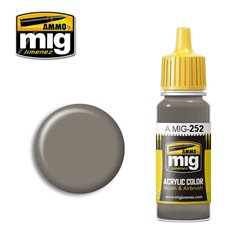 AMMO BY MIG A.MIG-0252 Acrylic Color Grey Brown AMT-1 17 ml