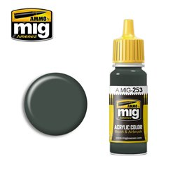 AMMO BY MIG A.MIG-0253 Acrylic Color RLM 74 Graugrün 17 ml