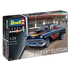 REVELL 07663 1/24 '56 Chevy Custom