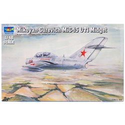 TRUMPETER 02805 1/48 Mikoyan-Gurevich MiG-15 UTI Midget