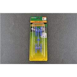 TRUMPETER 09984 Holding Guide pin for silicone mold-S Blue
