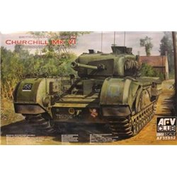 AFV CLUB AF35S52 1/35 British Infantry Tank Churchill Mark VI w/ordnance*