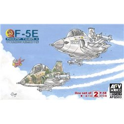 AFV CLUB AFQS03 Egg F-5E ROCAF Tiger II Q Series