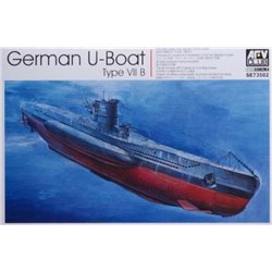 AFV CLUB SE73502 1/350 German U-Boat Type VIIB