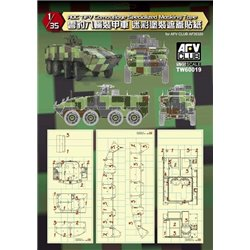 AFV CLUB TW60019 1/35 ROC TIFV Camouflage Specialized Masking Tape