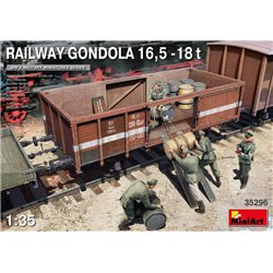 MINIART 35296 1/35 Railway Gondola 16,5-18t
