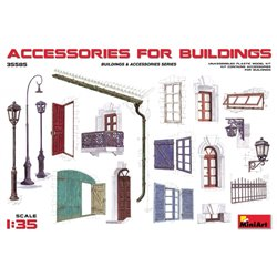 MINIART 35585 1/35 Accessories for buildings