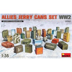 MINIART 35587 1/35 Allies Jerry Cans Set WW2
