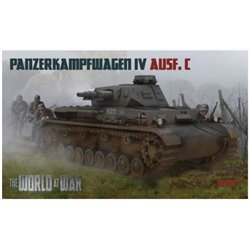 IBG MODELS W-010 1/76 Panzerkampfwagen IV Ausf. C