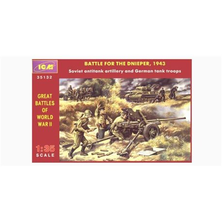 ICM 35132 1/35 Battle for the Dnieper, 1943