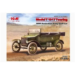 ICM 35667 1/35 Model T 1917 Touring WWI Australian Army Staff Car