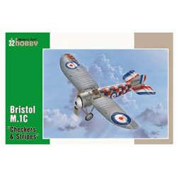 SPECIAL HOBBY SH32060 1/32 Bristol M.1C Chekers&Stripes