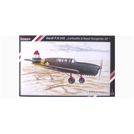 SPECIAL HOBBY SH48019 1/48 Nardi F. N.305 Luftwaffe and Royal Hung